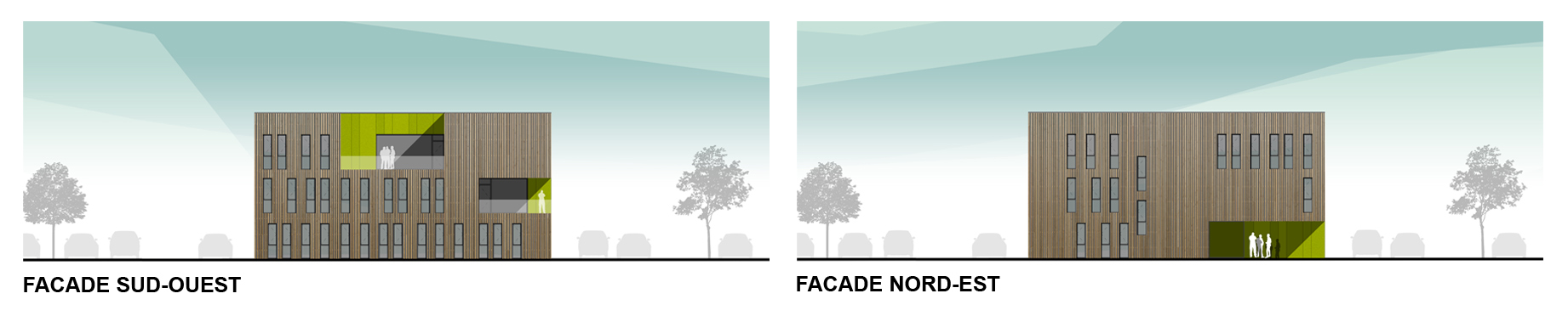 Grand But -facades SO-NE